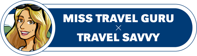Travel Savvy x Miss Travel Guru Logo