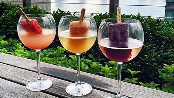 Loopy Doopy Rooftop Bar Prosecco Pops