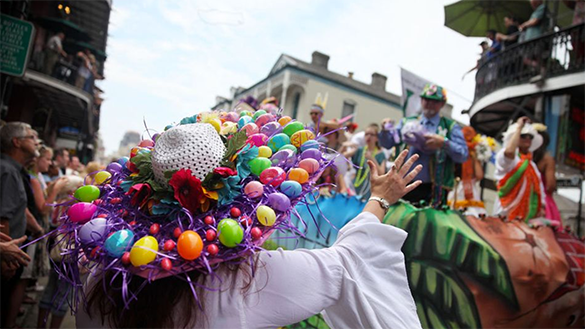 The Historic French Quarter Easter Parade