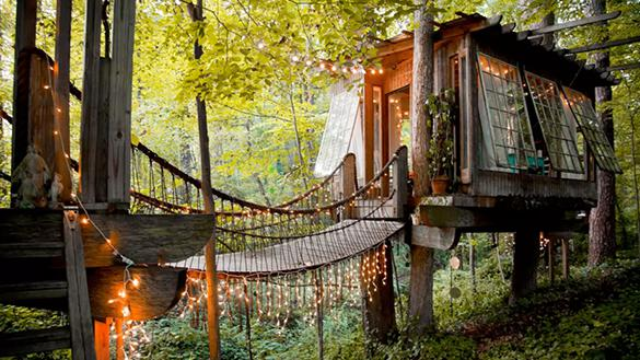 Secluded Intown Treehouse in Atlanta Georgia