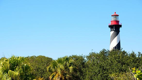 Lighthouse in St. Augustine Florida