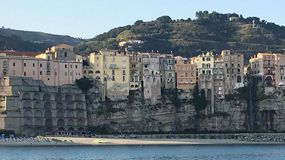 Tropea view from boat