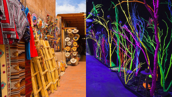 Folk Art and Meow Wolf