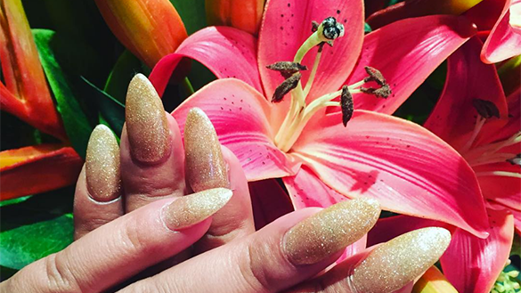 Manicure and Decor at Hula Nails