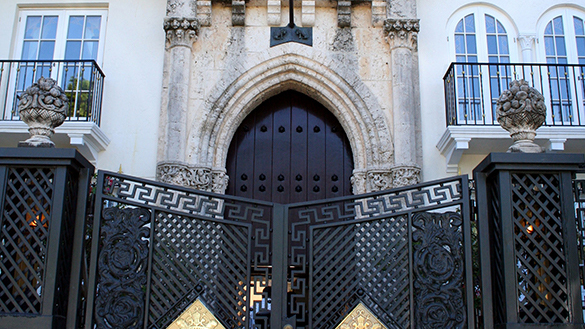 Versace Mansion Gate