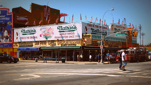 Nathans's Famous Frankfurters