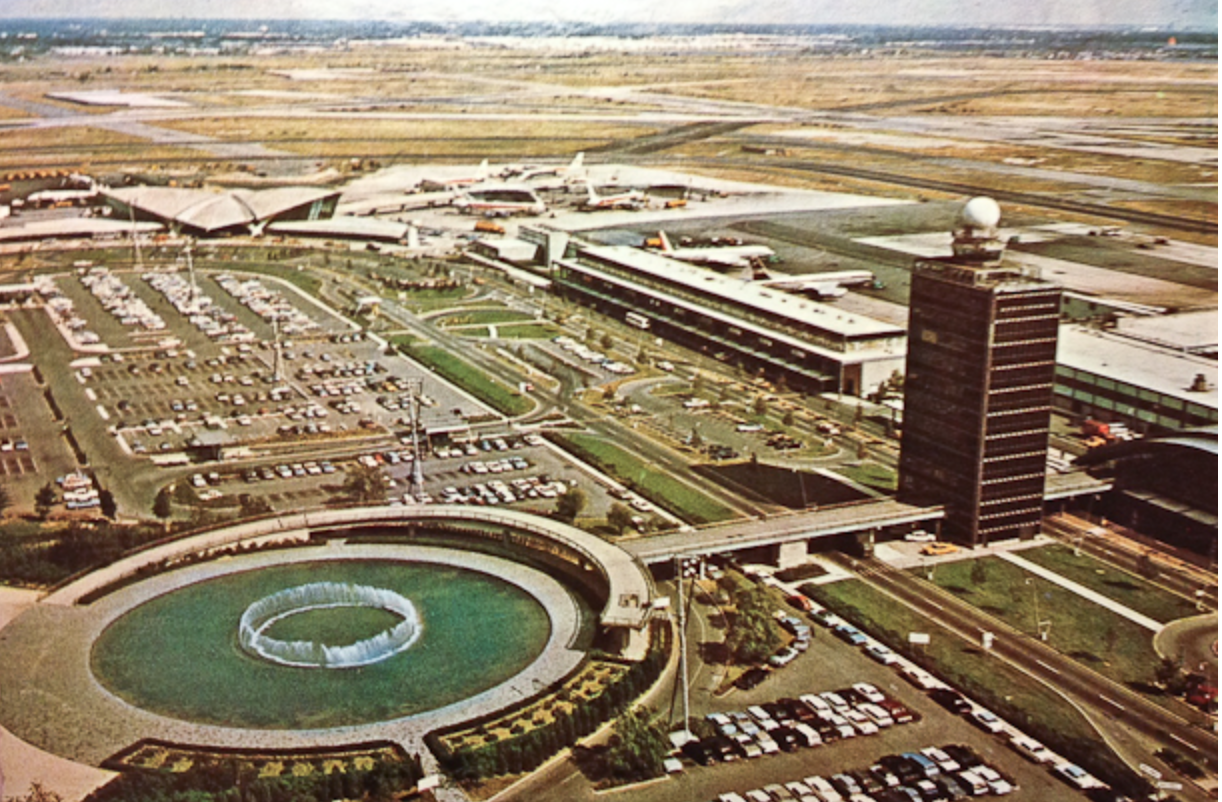 Terminal 4 Fountain - 4 Fun Facts About JFK Airport in NYC
