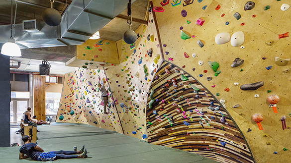 Rock Climbing Routes at Steep Rock Bouldering in NYC