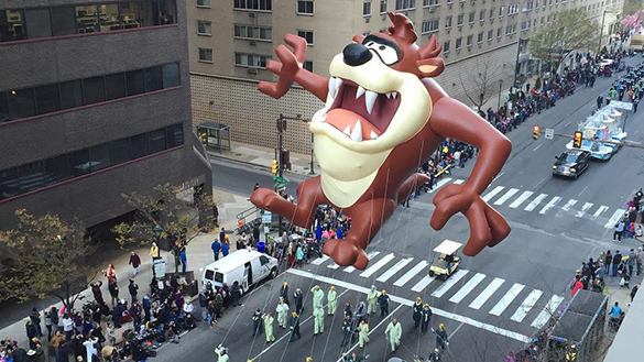 Tasmanian Devil Balloon Character Philadelphia Thanksgiving