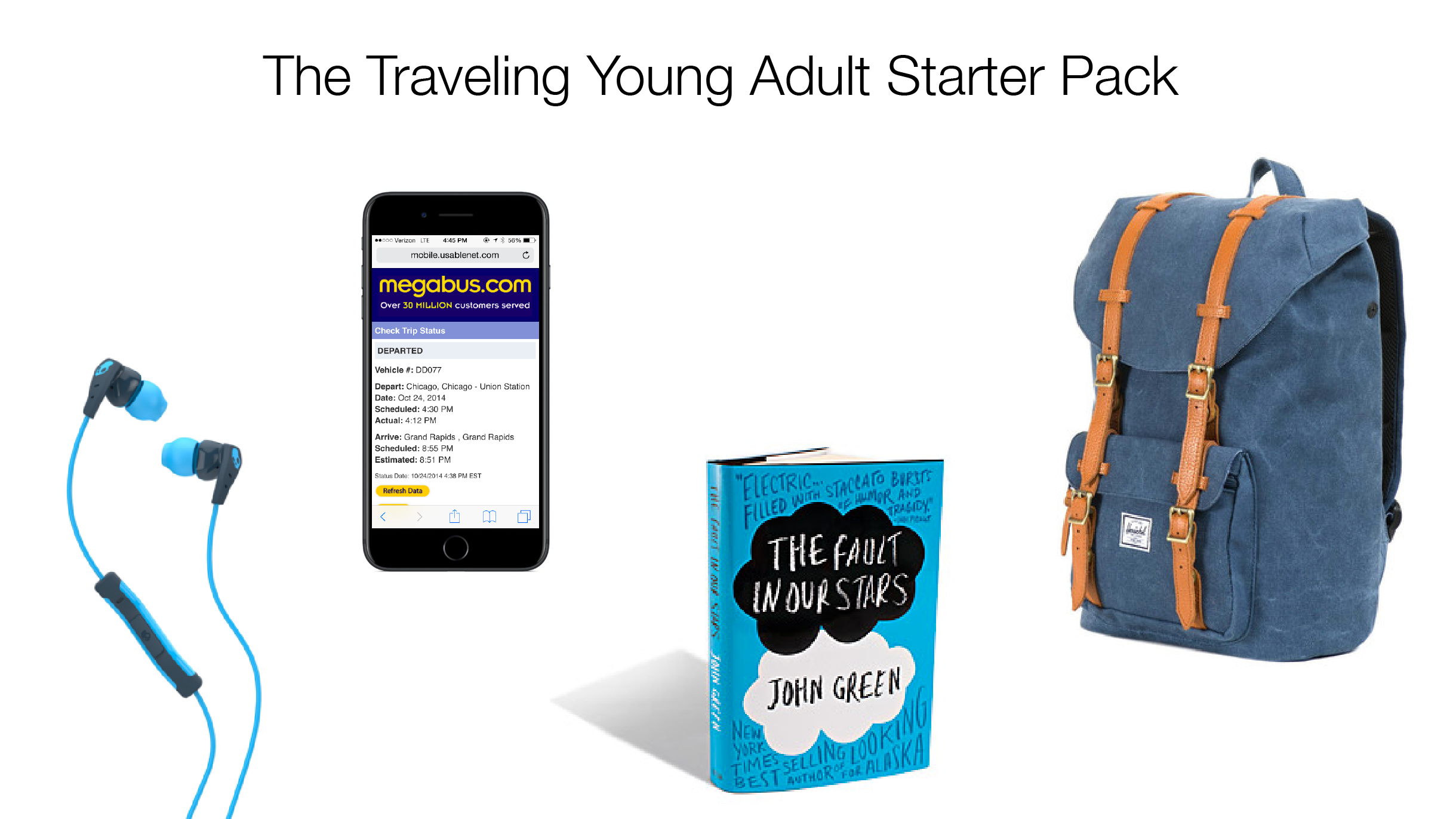 Traveling Young Adult Starter Pack