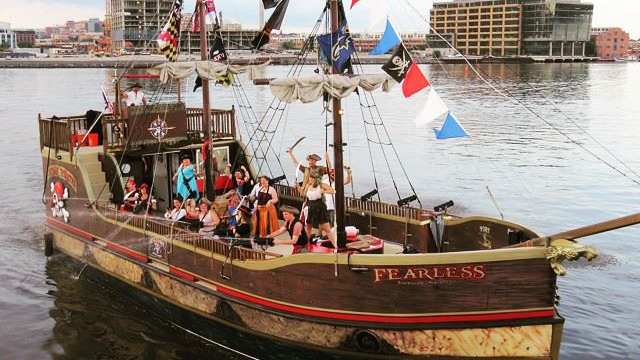 Fearless ship with Urban Pirates in Baltimore Maryland