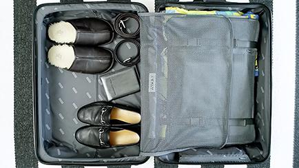 AWAY Travel Luggage Compartments