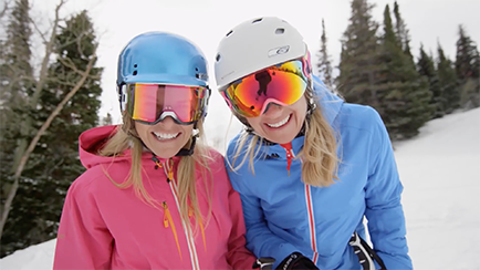 Skiers at Park City Mountain & Canyons Resort