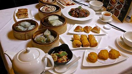 Yauatcha dim sum in London