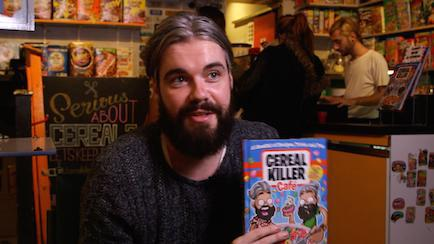 Cereal Killer Cafe co-owner Alan Keery