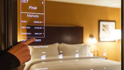 Smart Mirrors Starwood Hotels