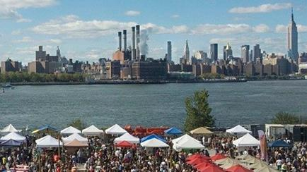 Smorgasburg NYC Food Market in Brooklyn